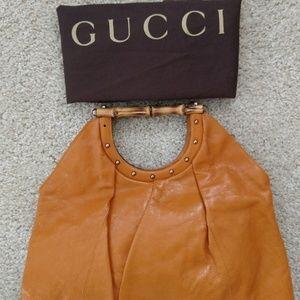 Tom Ford Bamboo Handle Gucci Handbag Tote